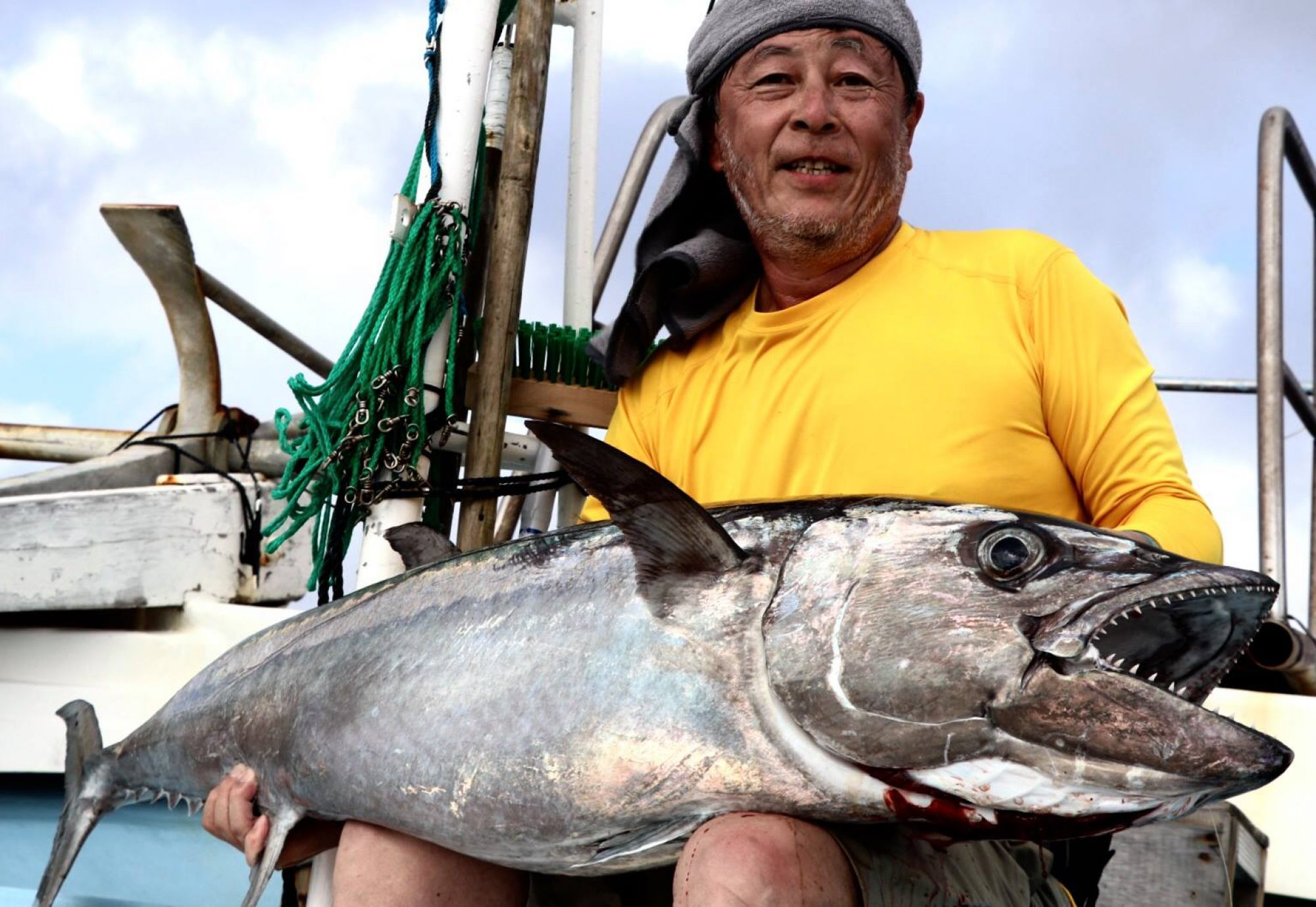 THE EARTHFIELD FISHING